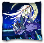Custom Anime Rectangle Pillowcase 41cm x 41cm (one side) suitable for Queen-bed