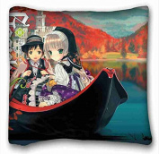 Soft Pillow Case Cover Anime Pillowcase Cover 41cm x 41cm One Side suitable for X-Long Twin-bed
