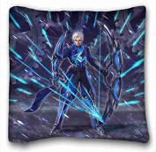Custom Characteristic Anime Pillowcase Cover 41cm x 41cm One Side suitable for X-Long Twin-bed