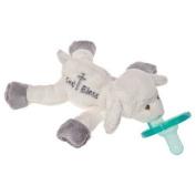 Mary Meyer Plush White Baby Blessing Lamb Wubbanub with Soothie Pacifier