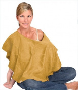 L'oved Baby Nursing Shawl Show and Tell Caramel by L'oved Baby