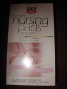 72 RITE AID DISPOSABLE NURSING BREAST FEEDING PADS EXTRA ABSORBENT NIP