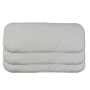 Tangda Baby Washable Reusable 3 Layers Microfiber Cloth Nappies Inserts Soft Superfine Fibre