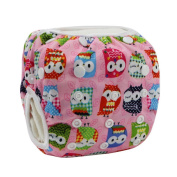 Tangda Baby Infant Adjustable 3 Size Reusable Swimming Nappy Nappy Pants Washable Nappies Owl