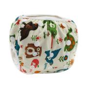 Tangda Baby Infant Adjustable 3 Size Reusable Swimming Nappy Nappy Pants Washable Nappies Animal