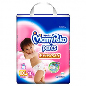 MamyPoko Pants Nappies Extra Soft Girls Size XXL 10 Pcs.