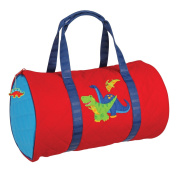 Stephen Joseph Quilted Duffle, Red Dino
