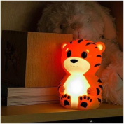 Terry the Tiger Portable Night Light Sheds a Soft Glow to Ease Fear of the Dark