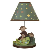 Bedtime Originals Curly Tails Lamp with Shade and Bulb