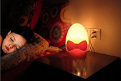 Domire Creative Night Light Lamp with Light Sensor Perfect for Infant, Child as Sleeping Light, Decorative Light-Yellow Light