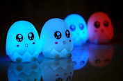 Domire 7 Colour Changing LED Night Light Lovely Egg Light-1pcs