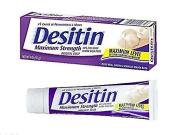 Desitin Nappy Rash Maximum Strength Original Paste 120ml tube