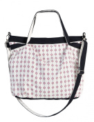 Vietsbay's Canvas Double Handles Crossbody Satchel Handbag