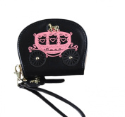 Easting Women's Cute Car Pattern Shell Shape Wallet Zipper Coin Bag Cards Holder