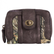 Browning Olivia- Small Ladies Wallet Mossy Oak Country/Brown