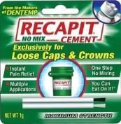 Recapit Maximum Strength No Mix Cap & Crown Cemen by MAJESTIC DRUG CO
