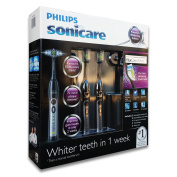 Philips Sonicare Flexcare Toothbrush. Premium Whitening Edition in Black Colour. 2 Pack