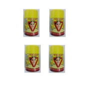 "4 x Vicco Vajradanti 50 gm Ayurvedic Herbal Tooth Powder - - ""Expedited International Delivery by USPS / FedEx """