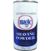 SOFT SHEEN Carson Magic Regular Strength Shaving Powder BLUE 150ml/142g by MAGIC