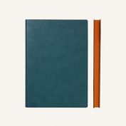 Signature Notebook - A5, Green