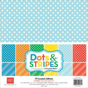 Echo Park Paper Company Dots and Stripes Summer Collection Kit