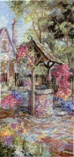 Pegasus Originals Wishing Well Garden Counted Cross Stitch Chart Pack