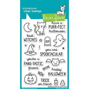 Spooktacular Cling Stamp Set // Lawn Fawn