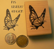 P75 Butterfly Fairy rubber stamp