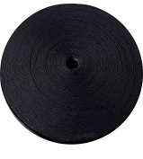 "Knitted Elastic 1 & 1/4"" 50 Yards - Black"