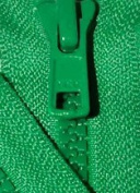 20cm Vislon Zipper ~ YKK #5 Moulded Plastic ~ Separating - 540 Lake Green