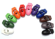 110pcs Colourful Grenade Style Cord Lock Stopper for Paracord