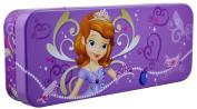 Disney Sofia the First - Metal Tin Case Pencil Box