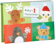 C.R. Gibson Jill McDonald Pop Up Brag Book, Baby's 1st Christmas
