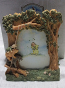 "Disney Classic Pooh Picture Frame ""Swinging"""
