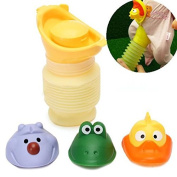 Kid Baby Portable Urinal Car Travel Toilet Potty Training Pee