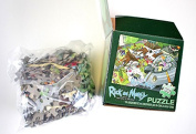 May 2015 Loot Crate RICK & MORTY 300 pc. Puzzle