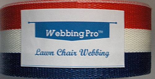 webbingpro tm lawn chair webbing kit red white blue lawn chair webbing ebay. Black Bedroom Furniture Sets. Home Design Ideas