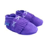 Oxxy Baby Shoes Soft Soled Purple 6-9 Months