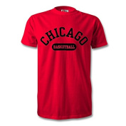 Chacago Basketball T-Shirt Red/Black