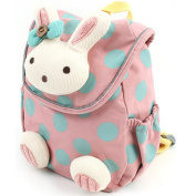 FOME Animal Rabbit Anti-lost Baby Backpack Toddler Kids School Bag (Pink) + FOME GIFT