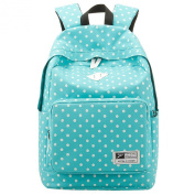 Nazza Lightweight Casual Daypack Oxford Fabric Polka Dot Backpack
