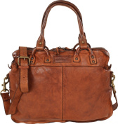 Harold's Submarine Businesstasche Leather 40 cm cognac