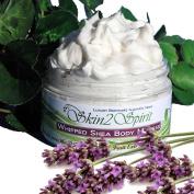 Skin2spirit Organic Shea Body Mousse - Lavender & Chamomile Skin Soothing Formula