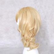 Dream2reality Cosplay_Code Geass Lelouch of the Rebellion_Anya Alstreim_2 ponytails_35cm_blonde_Japanese kanekalon wigs