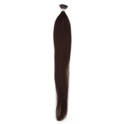 High Quality 100% Remy Human Hair Extensions Straight Stick/i-tip Hair Extension 60cm (1g/s) 100g 100 Strands