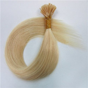 High Quality 100% Remy Human Hair Extensions Straight Stick/i-tip Hair Extension 60cm 100g 100 Strands