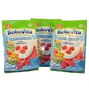 Bobovita Milk and Rice Gruel with Raspberries for Babies