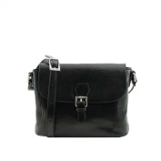 Tuscany Leather - Jody - Leather shoulder bag with flap - TL141278