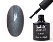 Shellac Nails by Bluesky Steel Grey Shellac Gel 10ml