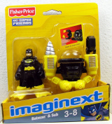 Fisher Price - Imaginext - DC Super Friends - Batman & Sub - W9556